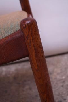 Hans Wegner Set of Six Hans Wegner W2 Dining Chairs for C M Madsen in Oak - 1083630