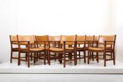 Hans Wegner Set of Ten GE 1960s Armchairs in Leather by Hans Wegner for by GETAMA Denmark - 1043932
