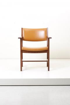 Hans Wegner Set of Ten GE 1960s Armchairs in Leather by Hans Wegner for by GETAMA Denmark - 1043934