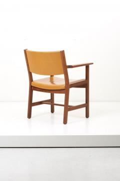 Hans Wegner Set of Ten GE 1960s Armchairs in Leather by Hans Wegner for by GETAMA Denmark - 1043937
