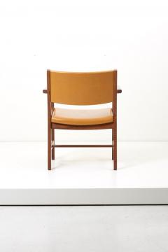 Hans Wegner Set of Ten GE 1960s Armchairs in Leather by Hans Wegner for by GETAMA Denmark - 1043938