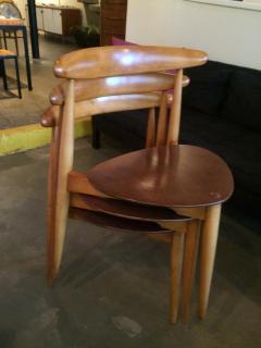 Hans Wegner Set of Three Hans Wegner Chairs - 192826