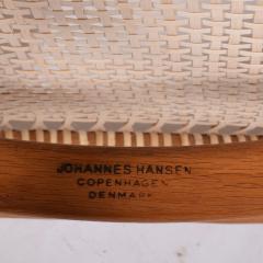 Hans Wegner Six Hans Wegner Classics Arm Chairs for Johannes Hansen - 1057335