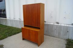 Hans Wegner Tall Teak and Oak Cabinet by Hans Wegner - 102409