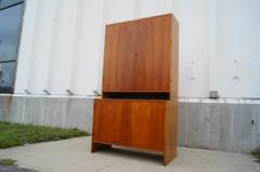 Hans Wegner Tall Teak and Oak Cabinet by Hans Wegner - 102411