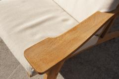 Hans Wegner Three Piece Oak Frame Sofa Model GE 375 by Hans Wegner for Getama - 105474