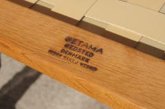 Hans Wegner Three Piece Oak Frame Sofa Model GE 375 by Hans Wegner for Getama - 105479