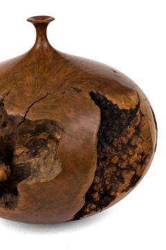 Hap Sakwa Turned Manzanita Wood Vessel - 1525639
