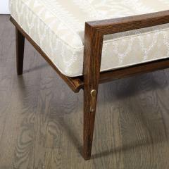 Harold M Schwartz Pair of Mid Century Modern Oak Lounge Chairs by Harold Schwartz for Romweber Co  - 2143277