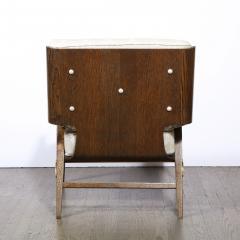 Harold M Schwartz Pair of Mid Century Modern Oak Lounge Chairs by Harold Schwartz for Romweber Co  - 2143279