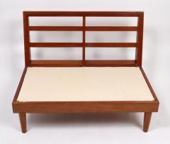 Harold Rockwood Harold Rockwood New Hope style mid century modern settee - 1441558