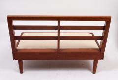 Harold Rockwood Harold Rockwood New Hope style mid century modern settee - 1441568