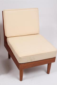 Harold Rockwood Pair of New Hope Style Lounge Chairs - 1439802