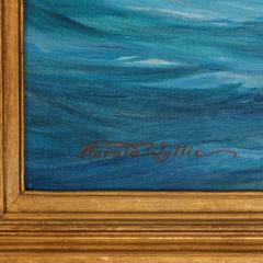 Harold Wyllie A rare painting of 1930 America s Cup racing off Newport signed Harold Wyllie  - 1638021