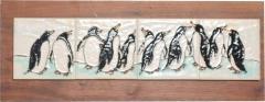 Harris Strong Harris G Strong Penguin Tile Wall Art Plaque Midcentury Modern - 1434536