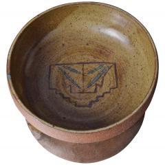 Harrison McIntosh Crafted Ceramic Pottery Decorative Bowl Harrison McIntosh Style 1960s California - 1640407