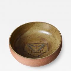 Harrison McIntosh Crafted Ceramic Pottery Decorative Bowl Harrison McIntosh Style 1960s California - 1642768