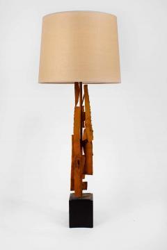 Harry Balmer Harry Balmer Abstract Sculpture Lamps in Oxidized Corten Steel for Laurel 1960s - 1695307