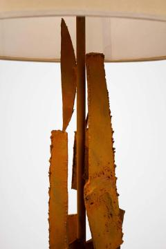 Harry Balmer Harry Balmer Abstract Sculpture Lamps in Oxidized Corten Steel for Laurel 1960s - 1695309
