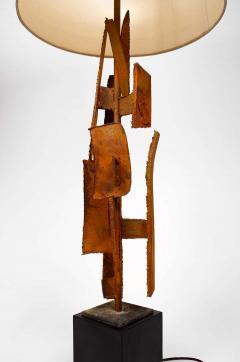 Harry Balmer Harry Balmer Abstract Sculpture Lamps in Oxidized Corten Steel for Laurel 1960s - 1695310