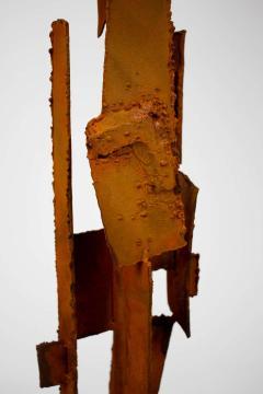 Harry Balmer Harry Balmer Abstract Sculpture Lamps in Oxidized Corten Steel for Laurel 1960s - 1695311