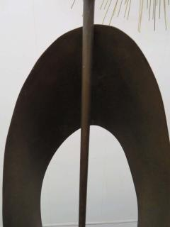 Harry Balmer Pair Huge Richard Barr Harold Weiss Ribbon Lamp for Laurel Mid Century Modern - 1570672
