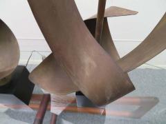 Harry Balmer Pair Huge Richard Barr Harold Weiss Ribbon Lamp for Laurel Mid Century Modern - 1570673