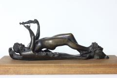 Harry Bates Bronze Door Knocker lost wax casting cire perdue by Harry Bates England 1895 - 1463309