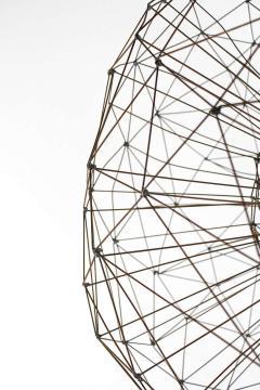 Harry Bertoia Abstract Dandelion Sculpture in the Style of Harry Bertoia 1965 - 1695319