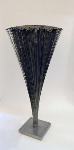 Harry Bertoia Bertoia Spray Sculpture with Rare Flat Rounded Ends - 213815