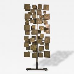 Harry Bertoia Early and Monumental Harry Bertoia Sculpture Screen - 131393