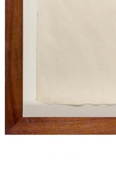 Harry Bertoia Framed Monotype on Rice Paper - 1233117