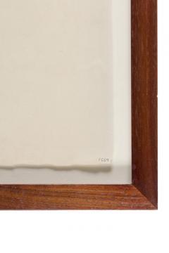 Harry Bertoia Framed Monotype on Rice Paper - 1233119