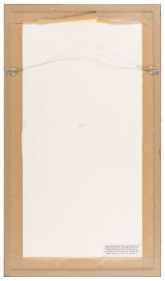 Harry Bertoia Framed Monotype on Rice Paper - 1233121