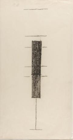 Harry Bertoia Framed Monotype on Rice Paper - 1233189