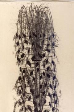 Harry Bertoia Framed Monotype on Rice Paper - 1500063