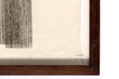 Harry Bertoia Framed Monotype on Rice Paper - 1500071
