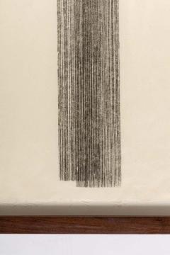 Harry Bertoia Framed Monotype on Rice Paper - 1500074