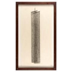 Harry Bertoia Framed Monotype on Rice Paper - 1500076