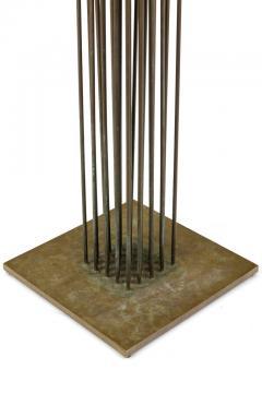 Harry Bertoia Harry Bertoia Beryllium Brass Cattail Sonambient Sculpture 1970s - 1935627