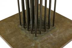 Harry Bertoia Harry Bertoia Beryllium Brass Cattail Sonambient Sculpture 1970s - 1935630