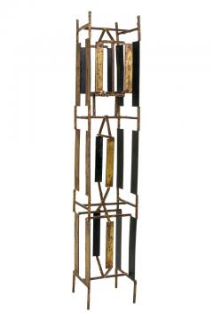 Harry Bertoia Harry Bertoia Brass Melt Coat Panel Sculpture Maquette for Bank in NYC 1950s - 734334