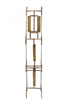 Harry Bertoia Harry Bertoia Brass Melt Coat Panel Sculpture Maquette for Bank in NYC 1950s - 734335