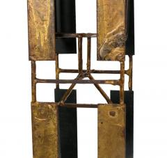 Harry Bertoia Harry Bertoia Brass Melt Coat Panel Sculpture Maquette for Bank in NYC 1950s - 734337