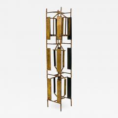 Harry Bertoia Harry Bertoia Brass Melt Coat Panel Sculpture Maquette for Bank in NYC 1950s - 734569