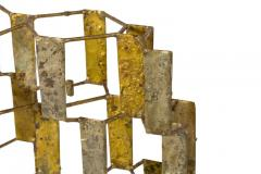 Harry Bertoia Harry Bertoia Brass Melt Coated Multi Plane Panel Sculpture - 2140988