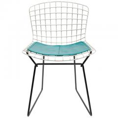 Harry Bertoia Harry Bertoia Childs Chair in White with Original Knoll Seat Pad - 1090230