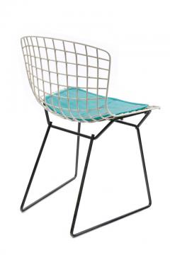 Harry Bertoia Harry Bertoia Childs Chair in White with Original Knoll Seat Pad - 1090231