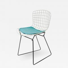 Harry Bertoia Harry Bertoia Childs Chair in White with Original Knoll Seat Pad - 1091092