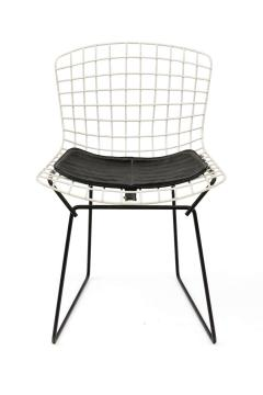 Harry Bertoia Harry Bertoia Childs Chairs in White with Original Knoll Seat Pads USA 1960s - 1604225